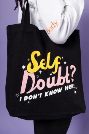 Self Doubt Tote Bag